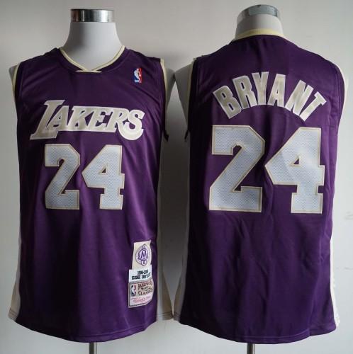 NIKE Jersey Lakers  NO.24 Purple