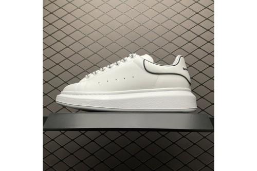 Alexander McQueen sole sneakers White sliver(SP batch)