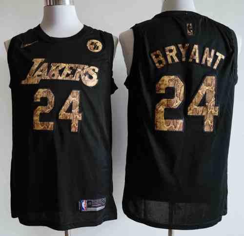NIKE Jersey Lakers  NO.24 black