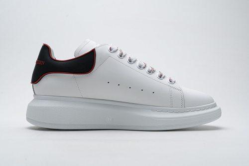 Alexander McQueen Sneaker White Black Red  553770 9076(SP batch)