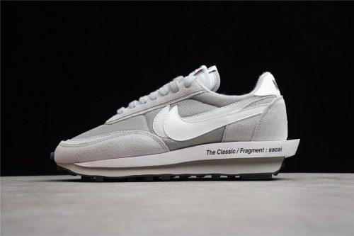 "Fragment x Sacai x Nike LDWaffle ""Wolf Grey"" DH2684-001"