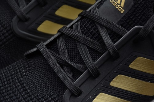 adidas Ultra Boost 20 Black Gold White EE4393