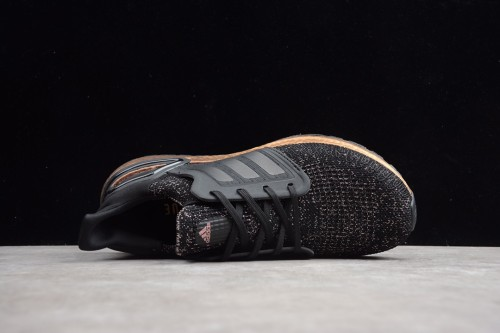 Adidas UltraBoost 20 Black Signal Pink FV8340