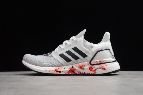 adidas Ultra Boost 20 Chinese New Year White (2020) FW4314